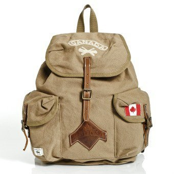 Beaver Canoe Day Back Pack Roots Canada