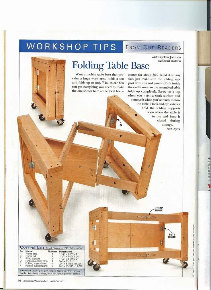 Folding Garage / Work Table : Mesa Plegable Part 43