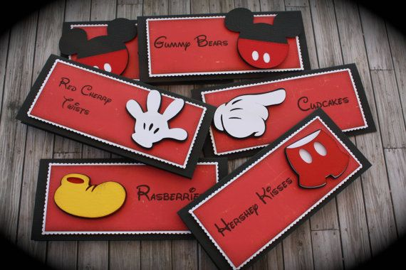 Hey, I found this really awesome Etsy listing at http://www.etsy.com/listing/155539967/minniemickey-mouse-themed-food-tentsmenu