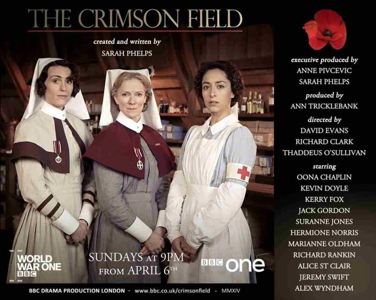 Christine Hallett, author of Veiled Warriors, on working as a consultant for the BBC drama, The Crimson Field. (Image courtesy of BBC) #WW1 #nursing #CrimsonField