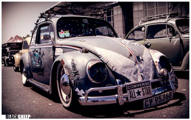 Vw bug rat look