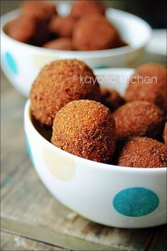 Bitterballen...this site has a lot of recipes, especially excited about the traditional Dutch ones.