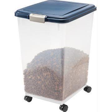 Iris 69 Quart Airtight Pet Food Container