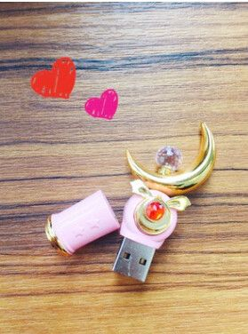 Kawaii Sailor Moon Crescent Moon wand 16G Usb Stick sold by SuperMarket Moon. Shop more products from SuperMarket Moon on Storenvy, the home of independent small businesses all over the world.