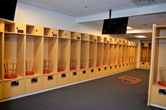These College Lockers For The Dickinson College Athletic