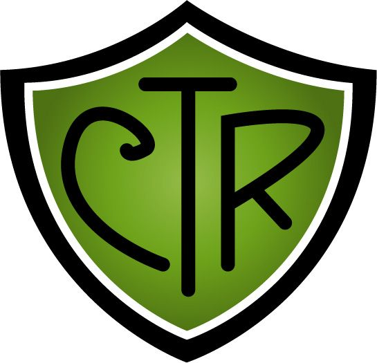 CTR Shield - Green Gradient - download LDS printables, object lessons, activity ideas, and teaching tips at Mormon Share.