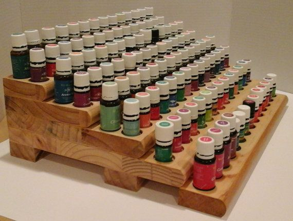 Young Living or doTerra Essential Oil Rack with BONUS