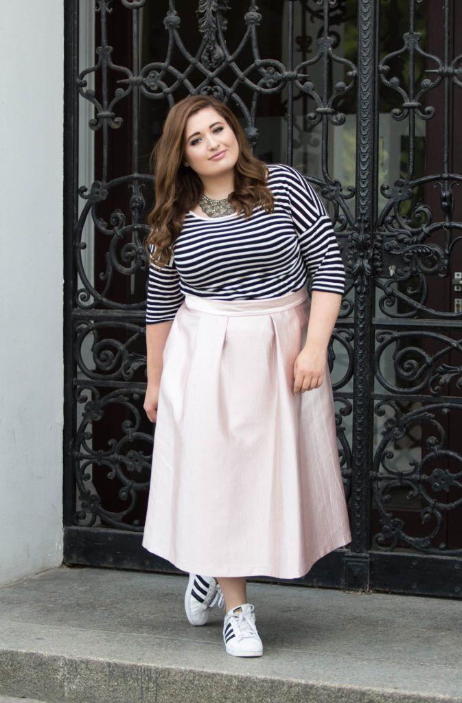 Plus Size Fashion und Streifen passen nicht zusammen? OH DOCH!   4 Looks die das Gegenteil beweisen.   Mehr dazu findet ihr auf SchönWild.de