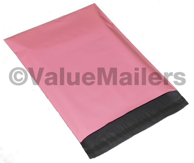 200 10x13 Amaranth PINK Poly Mailers Shipping Envelopes Boutique Bags 100 % Bag #VALUEMAILERS