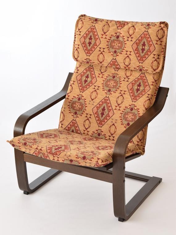 Poang Slipcover F22 Ikea Poang Chair Armchair Furniture Cushion