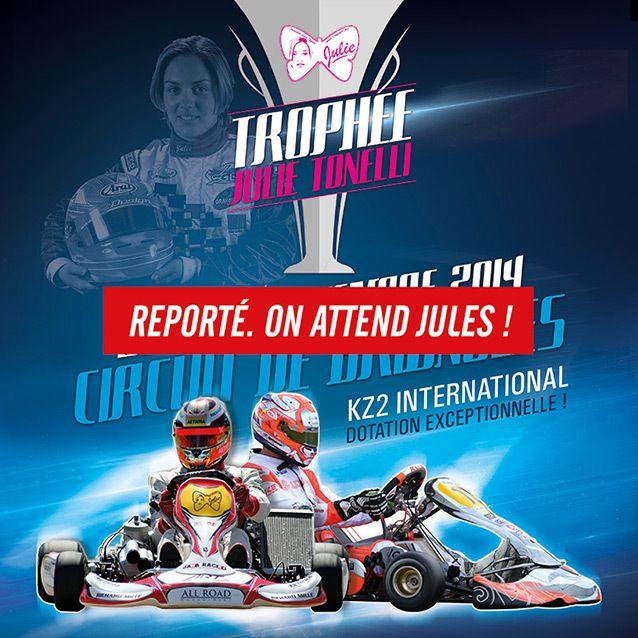 Le Trophée Julie Tonelli reporté en attendant Jules Bianchi