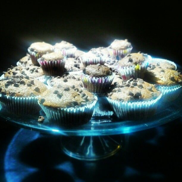 Vanilla choc chip cupcakes Photo by souci74