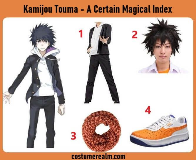 Index Of Halloween 2020 Hd A Certain Magical Index Kamijou Touma Cosplay in 2020 | A certain