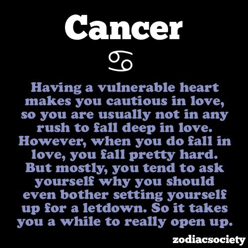 cancer birth sign quotes