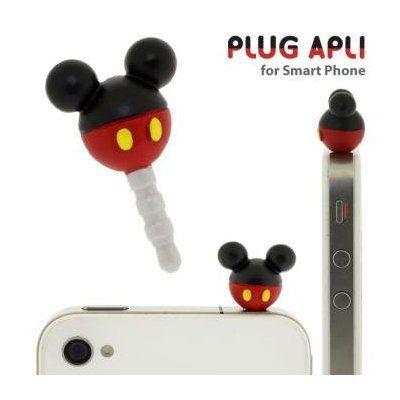 Disney Mickey Mouse iphone plug