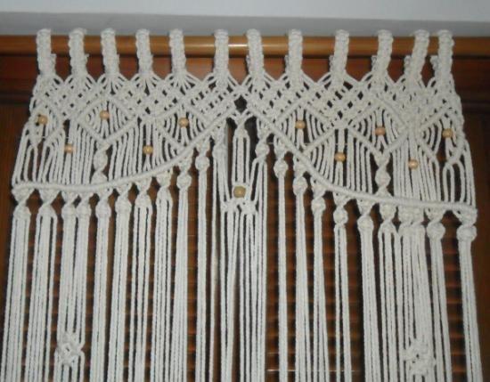 1000 images about macram cortinas en pinterest - Tapices de macrame ...