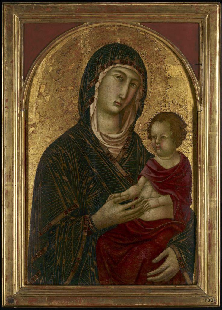 Segna di Buonaventura, Madonna col Bambino, c. 1315, Minneapolis, Minneapolis Institute of Art.