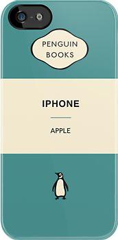 iPhone Penguin Classic Case in Aqua
