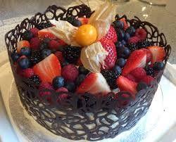 Украшения из шоколада – кружева. Сделайте десерт, достойный королевы!
