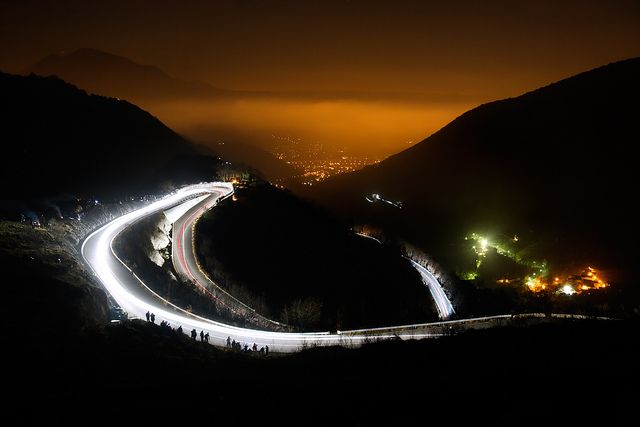 Rally Città dei Mille by night - Selvino (BG), by Pierpaolo