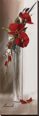 Art.fr - Tableau sur toile 'Hauteurs Florales II' par Olivier Tramoni