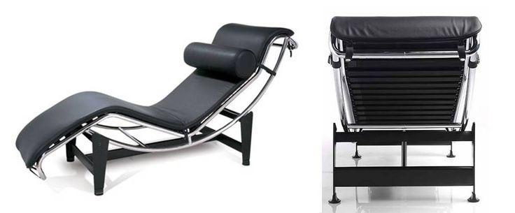Lc4 le corbusie 1928 chaise longue mobiliario - Mobiliario le corbusier ...