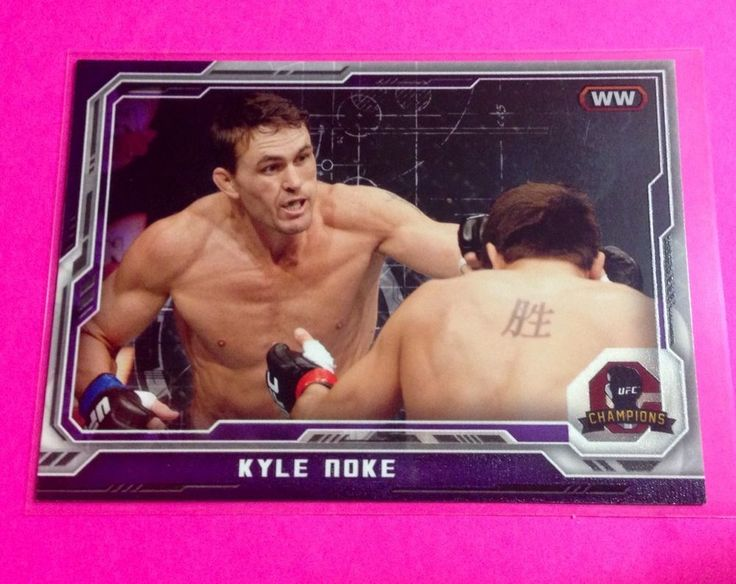 KYLE NOKE 2014 Topps UFC Champions Purple PARALLEL #80 67/88