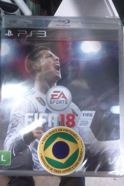FIFA 2018 em português para PlayStation 3 novo e lacrado  - Celular/Eletrônicos-Vídeo Games e Jogos-São Paulo, R$170,00 - https://trocazap.com.br/video-games-e-jogos/fifa-2018-em-portugues-para-playstation-3-novo-e-lacrado.html