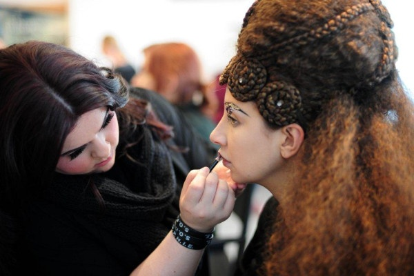 Make-up at The Show: Enchanted as created by Illasmasqua