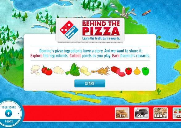 Domino's Behind the Pizza. Made in #Resn #CPB   http://www.resn.co.nz/#/project/dominos-behind-the-pizza