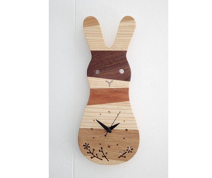 時計 森の記憶 rabbit