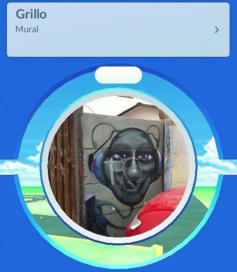 Grillo #pokemongo #pokemon #pokeparada #pokestop #grillo