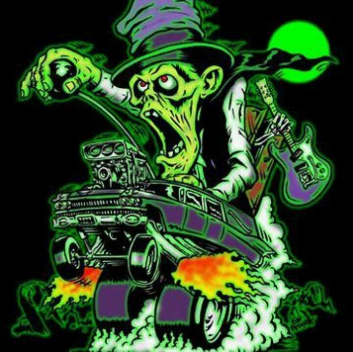 Fink Garage: Rat Fink, Garage Art, Rats