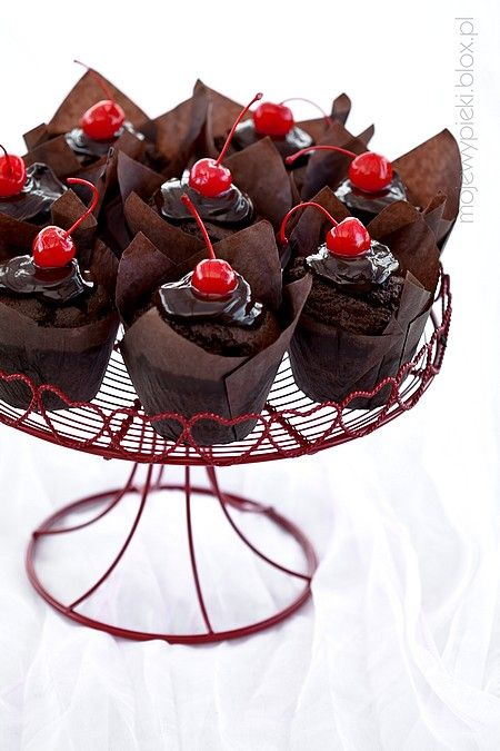 muffins with coca cola
