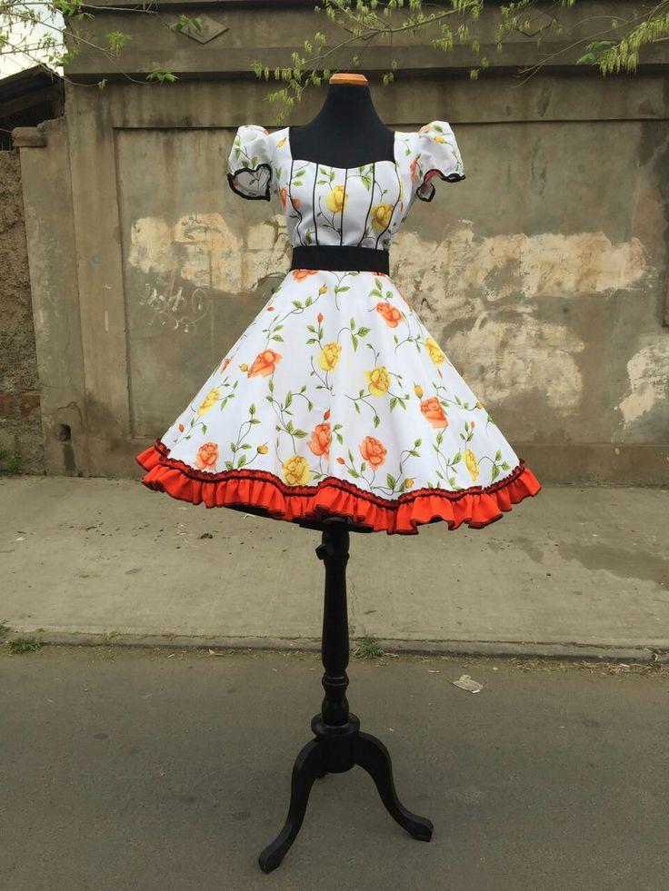 Vestido huasa. MarielaFritz