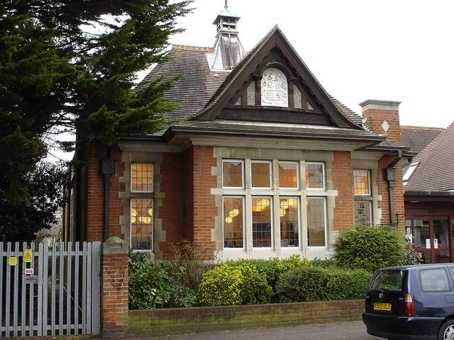 Westbourne Library Bournemouth Dorset England, via Flickr.