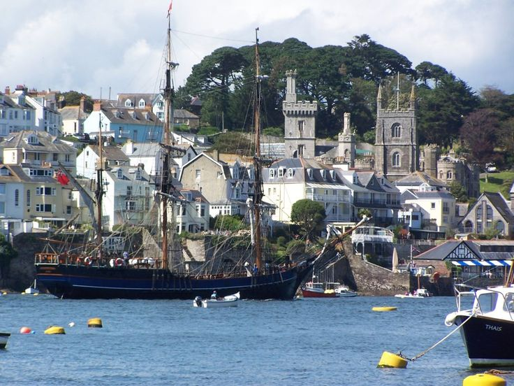 Fowey from the river