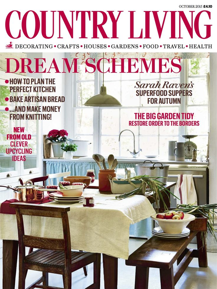 Country Living Uk 2015 10 By Olja