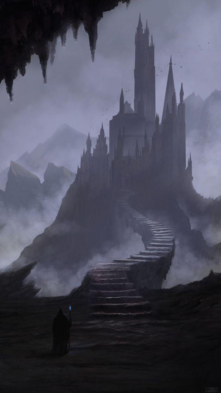 Dark Towers, Elizer Morcillos on ArtStation at https://www.artstation.com/artwork/o9yXB
