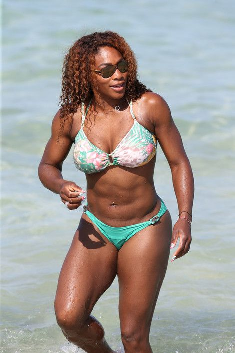 Black celebrity serena williams 2 4