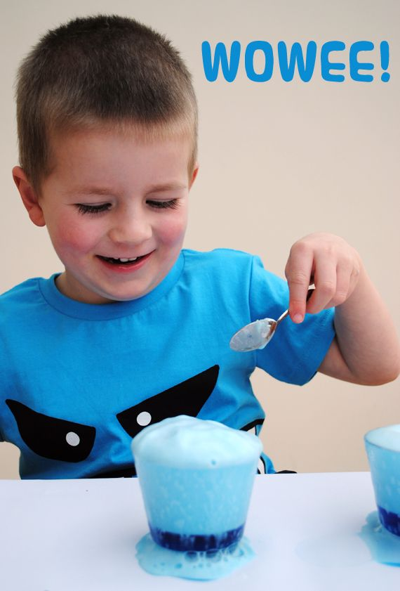 To make this fizzy potion you will need:    ♥ A container (something see-through works best)  ♥ White vinegar  ♥ Food colouring  ♥ Washing up liquid  ♥ Bicarbonate of soda (aka baking soda)  ♥ The enthusiasm of a child!  ♥ A tray
