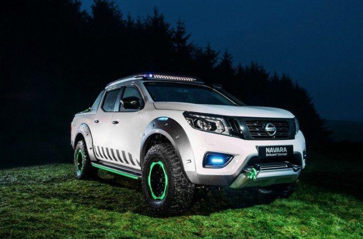 Nissan Navara EnGuard, un concepto de camioneta de rescate que presentarán en el Salón del Automóvil Buenos Aires