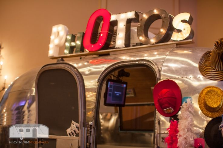 Vintage Airstream Photo Booth Rentals in Austin