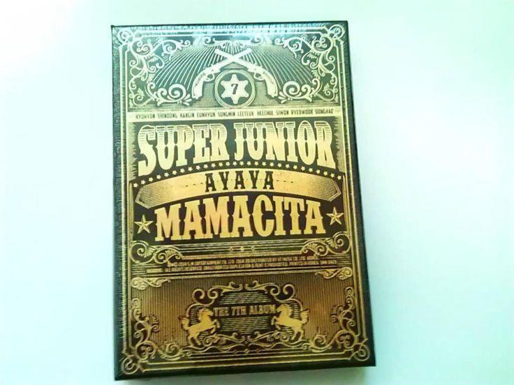K-POP 2014 Super Junior 7th Album MAMACITA AYAYA Vol.7 CD + Photobook Sealed #DancePop