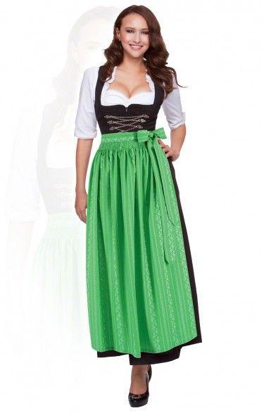 Oktoberfest dirndl apron SC195 kiwi