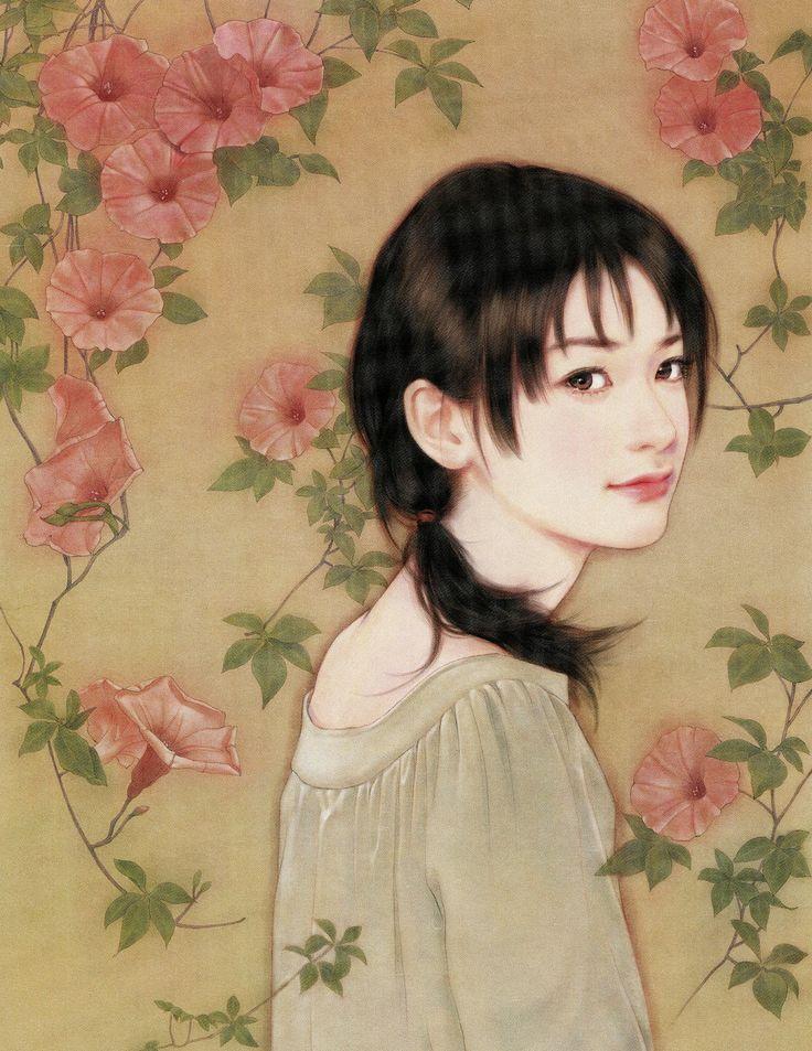 @PinFantasy - Chen Shu Fen - ✯ http://www.pinterest.com/PinFantasy/arte-~-la-mujer-en-el-arte-chino-women-in-chinese-/