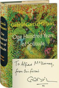15 best collectible gabriel garcia marquez images on pinterest one hundred years of solitude first edition first issue inscribed by the author by garca mrquez gabriel 1970 fandeluxe Gallery
