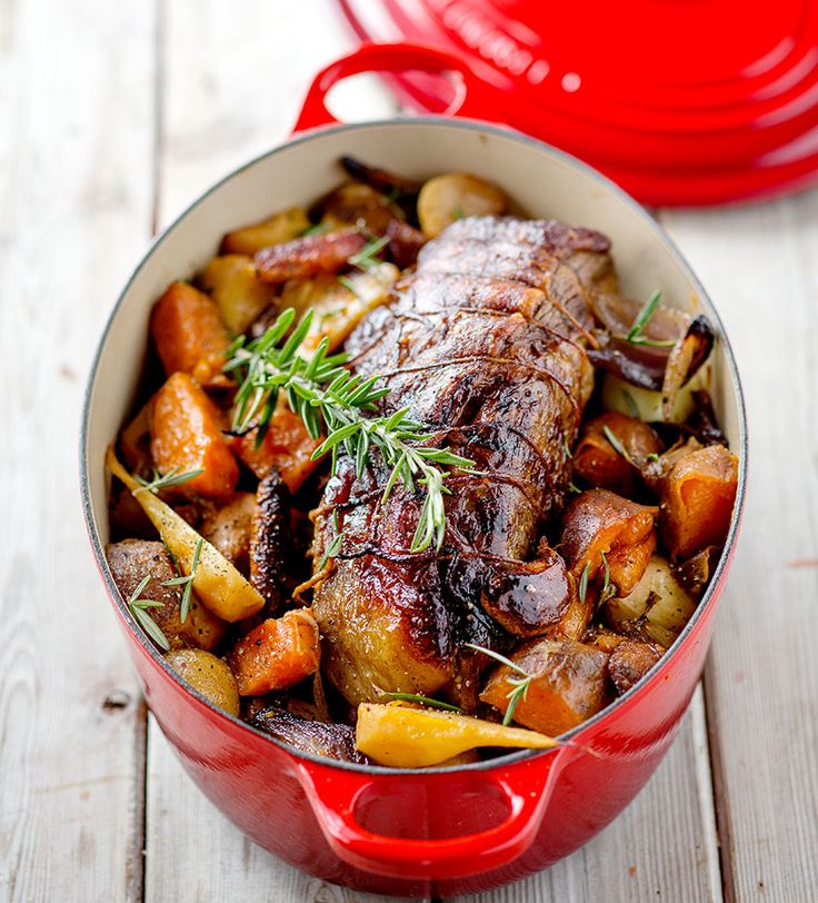 Trussed Beef Pot Roast with Autumn Vegetables - Le Creuset Recipes