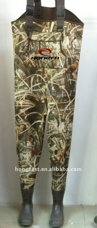 #camouflage chest fishing wader, #neoprene chest wader, #camouflage neoprene wader