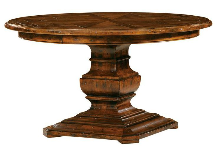 round dining tables for 8 hekman furniture rue de bac round dining table 8 - Hekman Furniture